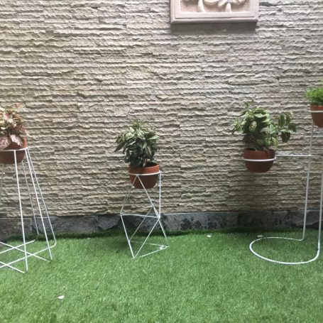 metal planter custom size